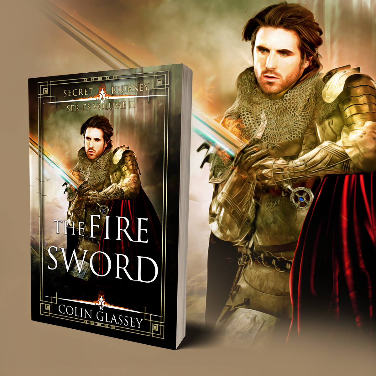 "Cover ""The Fire Sword"""