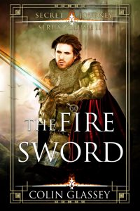 Cover illustration for The Fire Sword