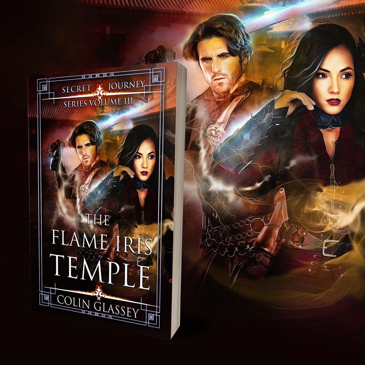 "Cover for ""The Flame Iris Temple"""