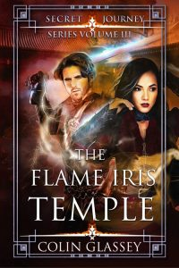 Cover illustration of The Flame Iris Temple