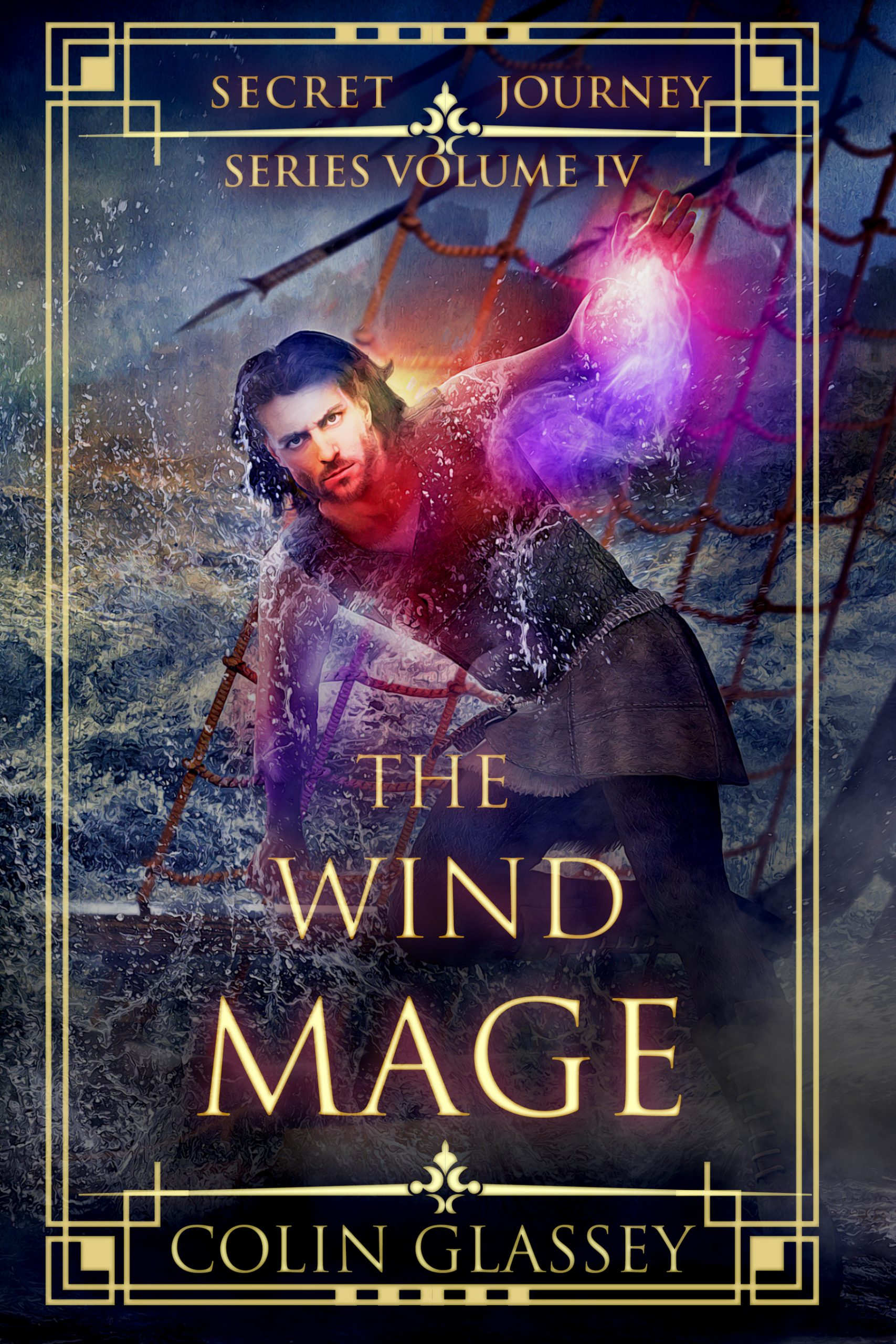 The Wind Mage - cover art